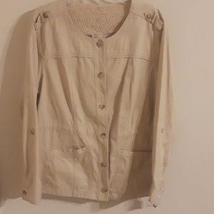 Dressbarn Plus Size Jacket New With Tags